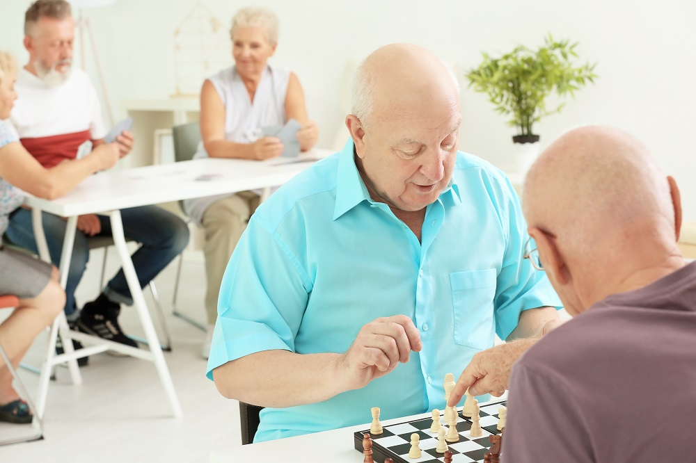 senior living evening ideas