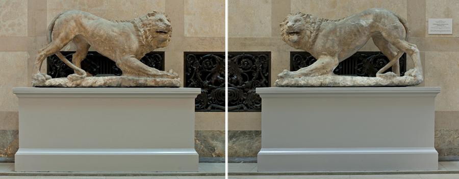 lion sculptures wadsworth