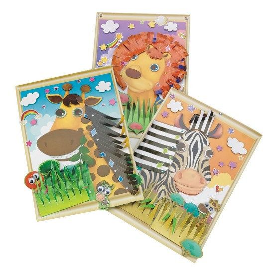 zoo animals crafts