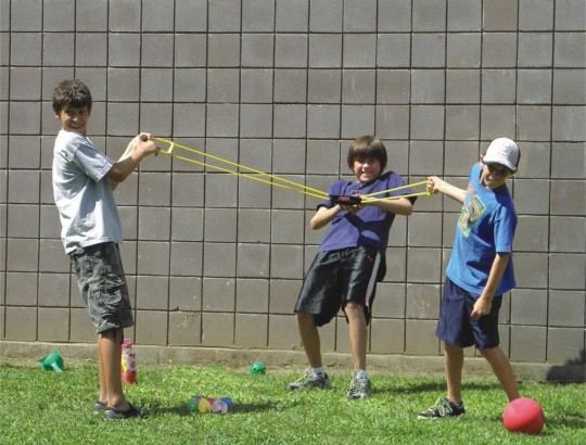 Field day balloon game