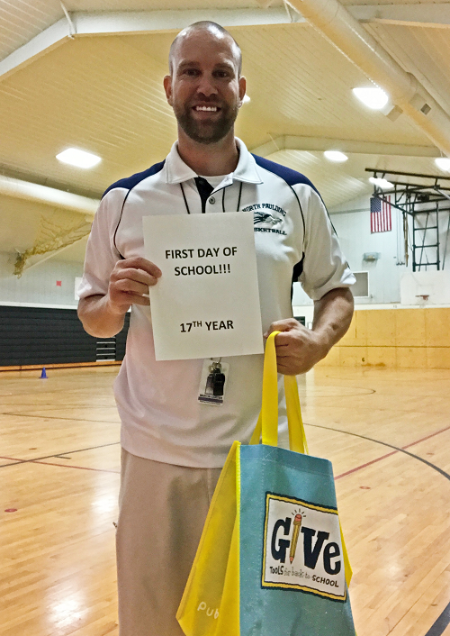 Coach Carter PE teacher