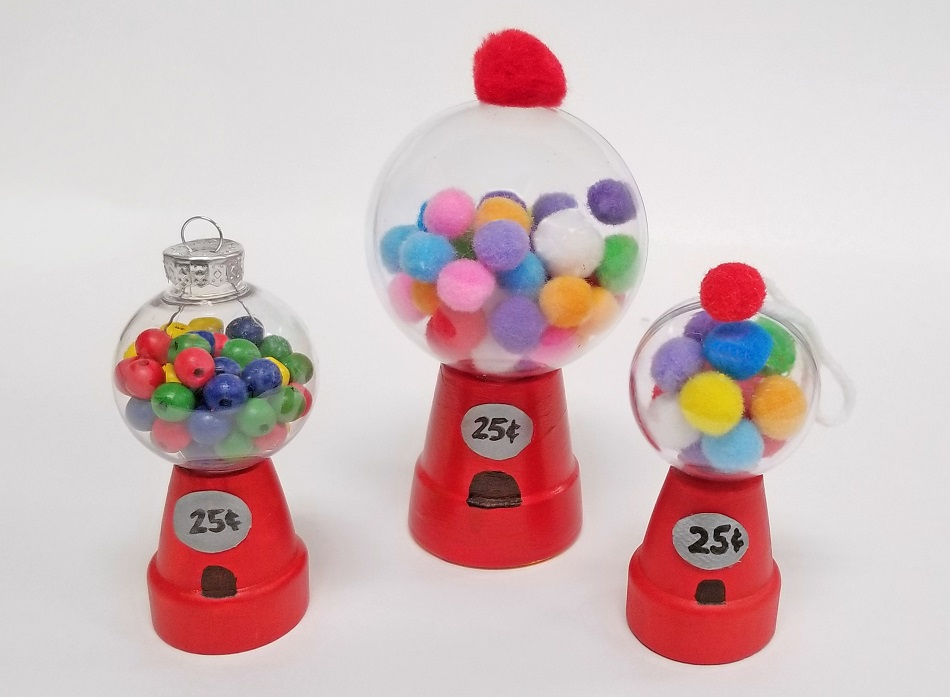 DIY gumball machine craft