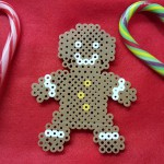 Make A Gingerbread Man With Fuse Beads
