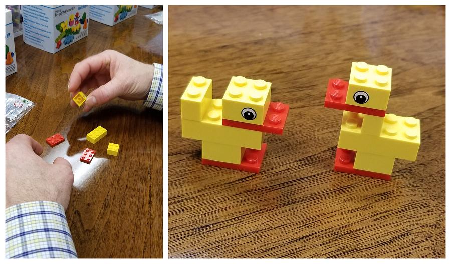 Lego icebreaker activity