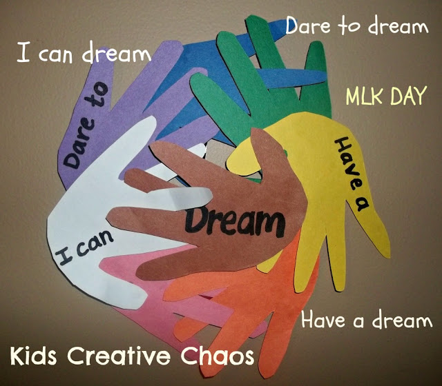 Martin Luther King Day Crafts S S Blog