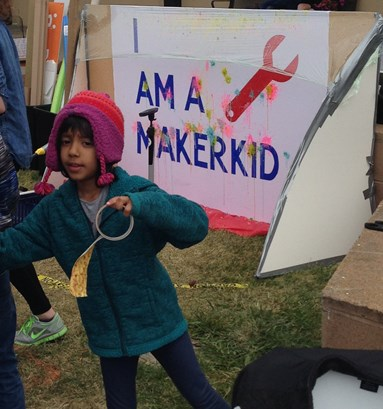 I am a Maker kid