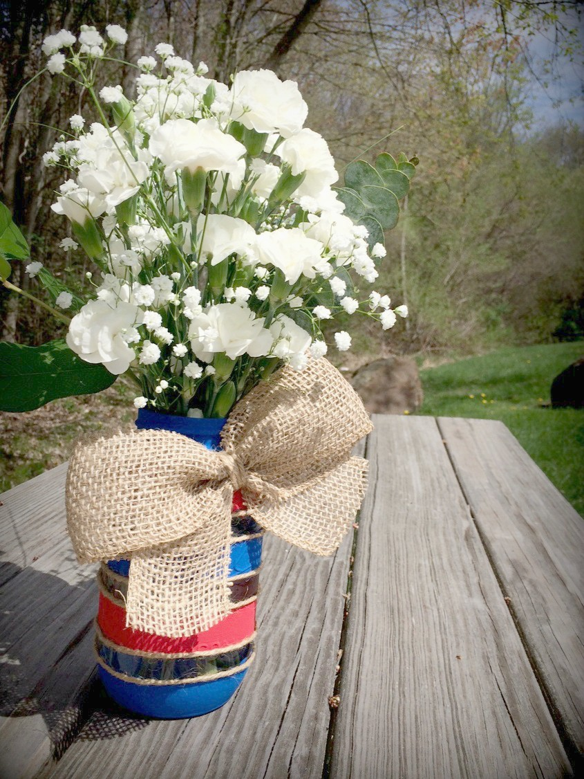 Mason Jars for Memorial Day