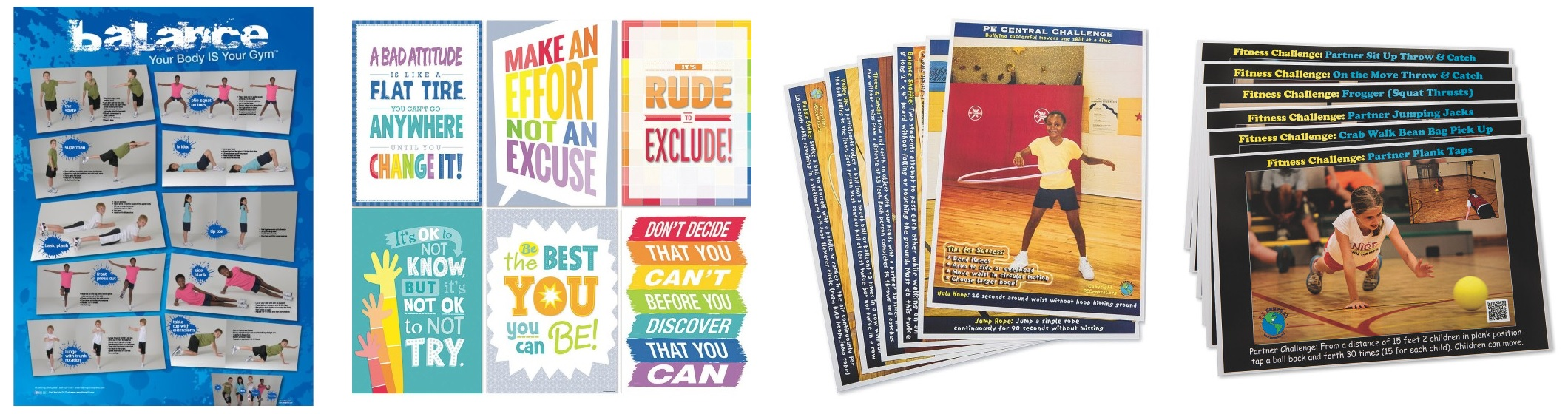 PE posters for teachers