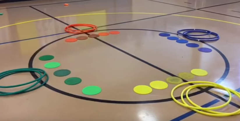 PE activity active play