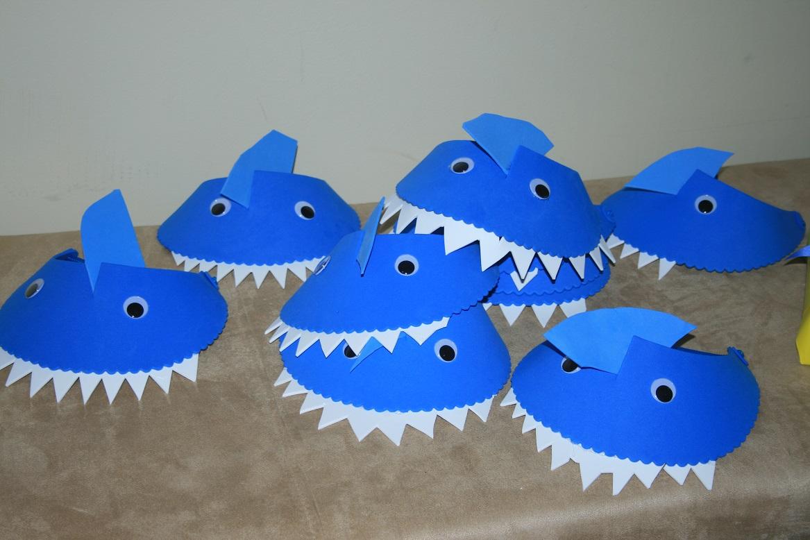 shark craft for shark week Kids Shark