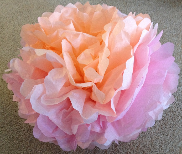 How to make tissue paper flowers craft tutorial ss blog tissue paper flower craft mightylinksfo