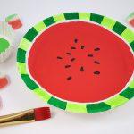 Watermelon Craft Activity for Summer