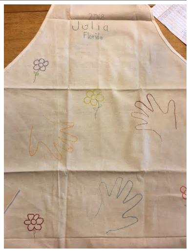color me craft apron