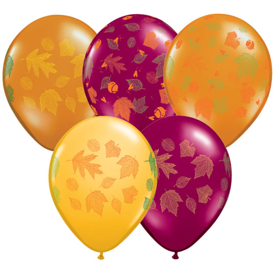 autumn balloons