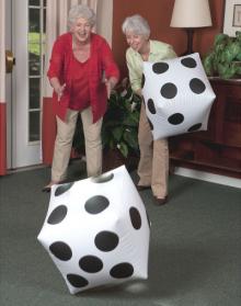 senior resdients floor games