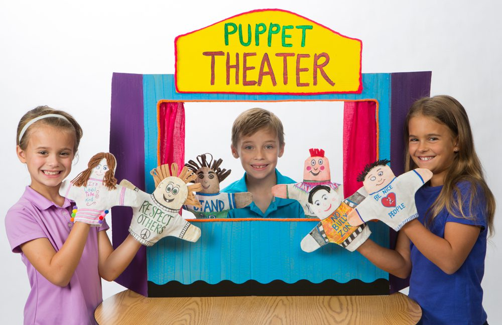 diy puppet theater