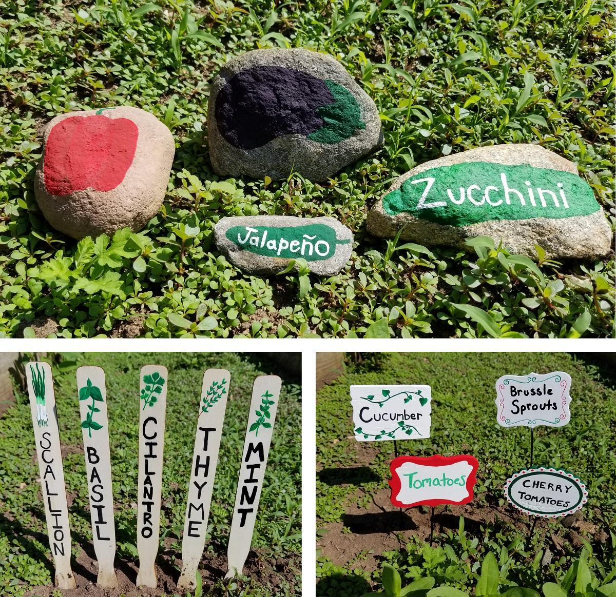 garden signs craft