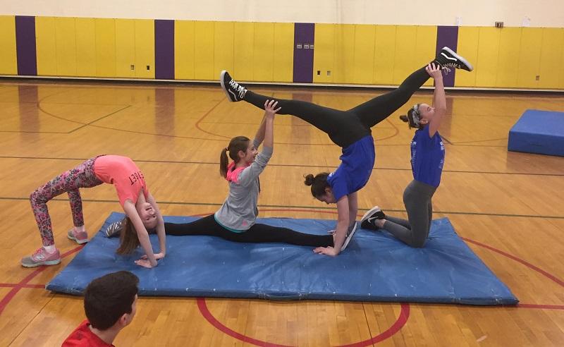 gymnastics PE