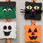 DIY Halloween Wood Plaque Decoration