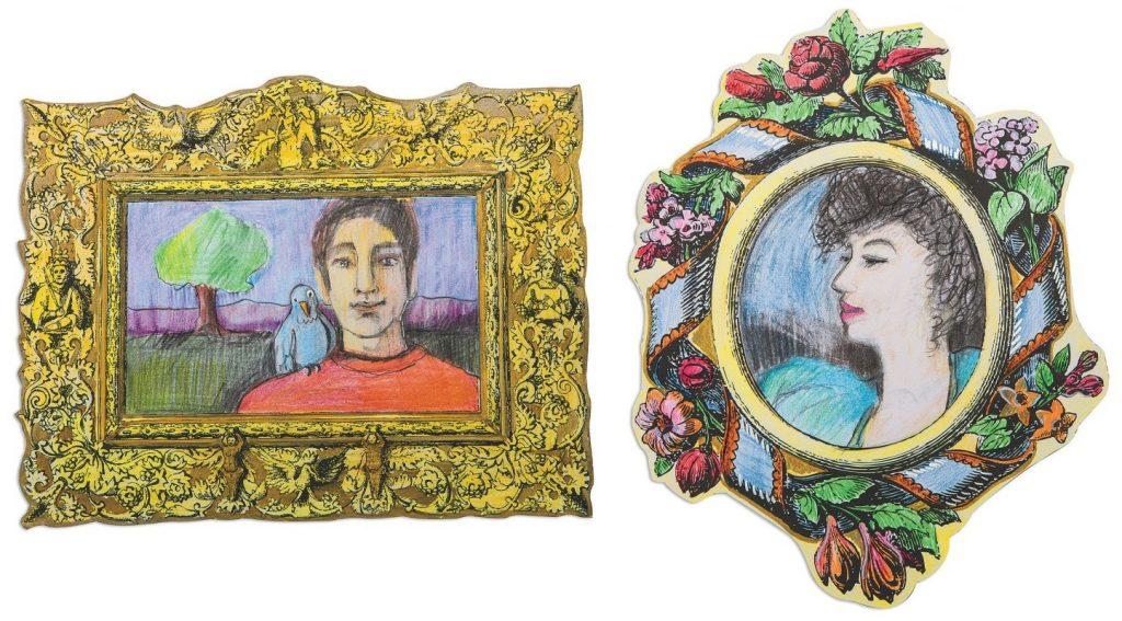 historical art frames craft