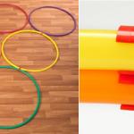 Easy Hoop Clips for Hula Hoop Activities & Games