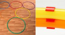 hoop clips PE