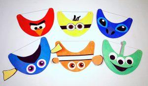 kids character visors