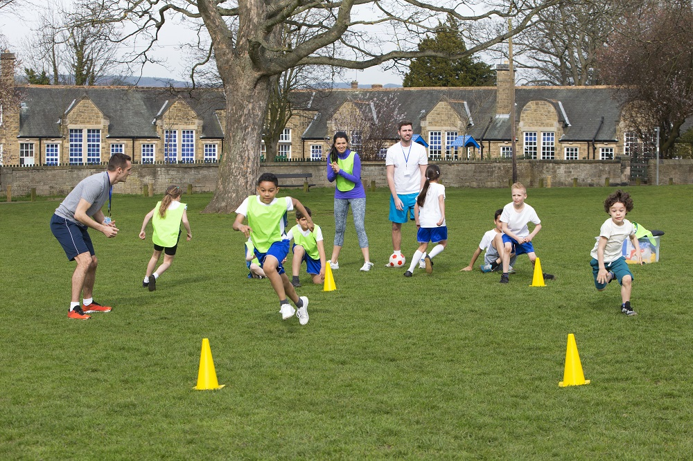 teach PE outdoors