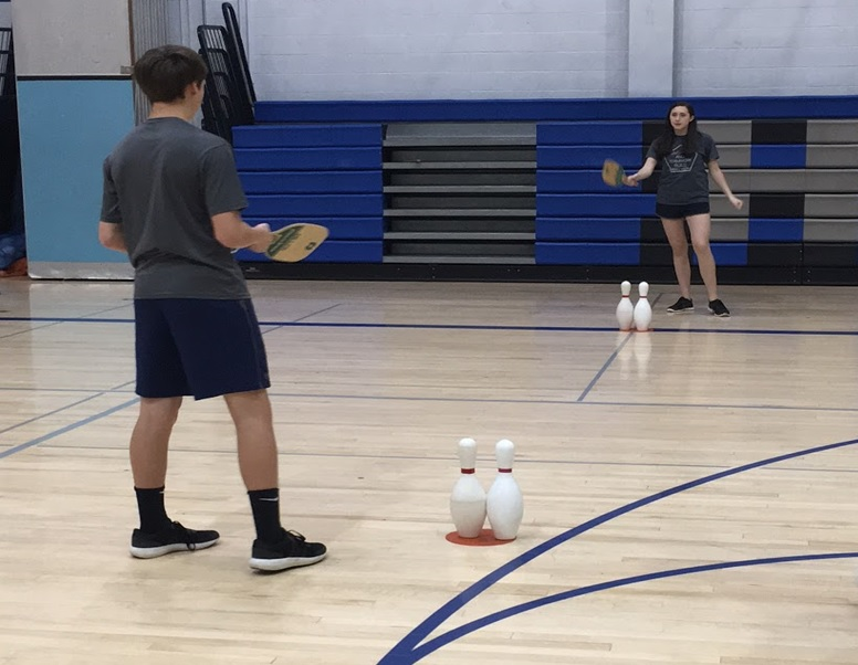 modified tennis activity PE