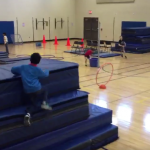 Ninja Warrior Obstacle Course for PE