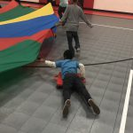 Parachute Surfing with Scooters Activity