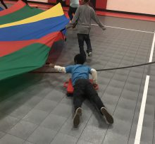 parachute surfing physed