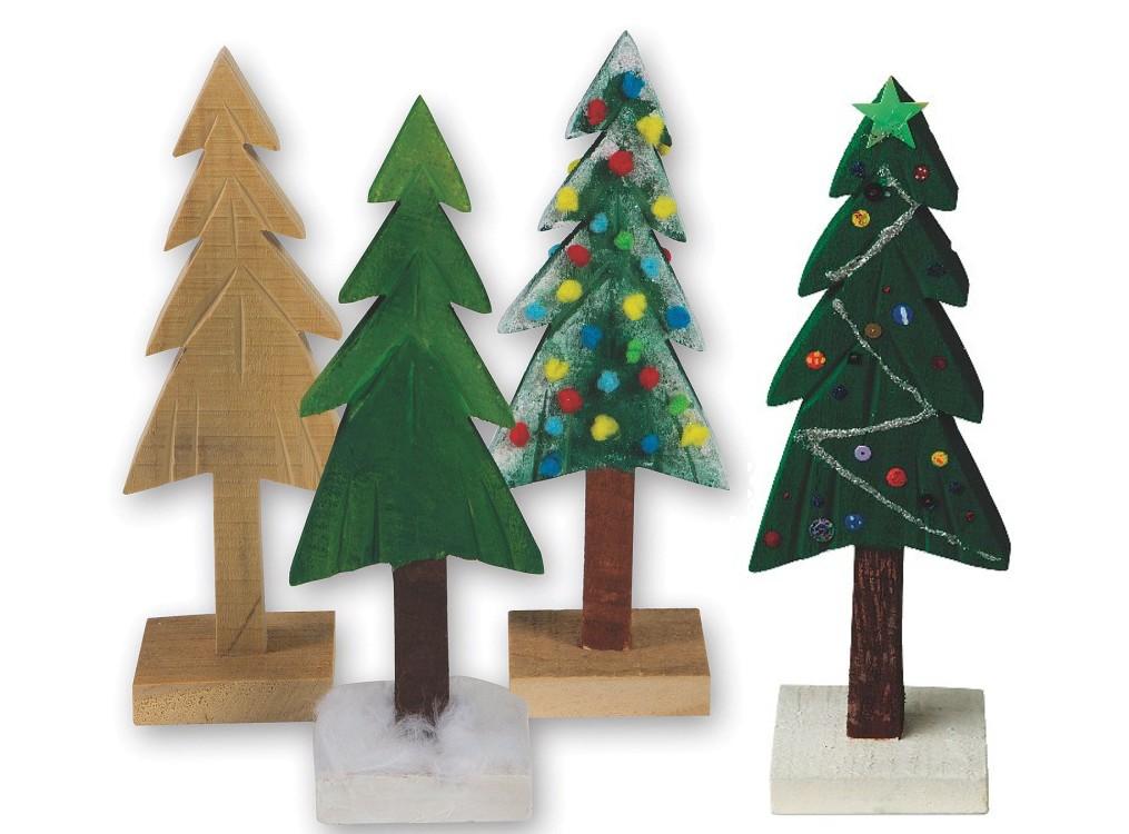pine tree holiday craft
