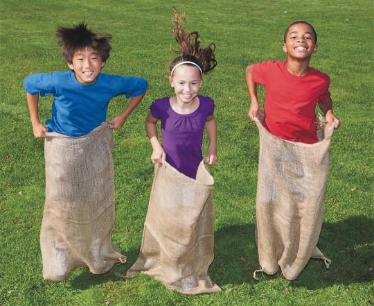 potato sack race ideas