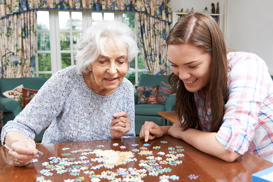 puzzle ideas senior living