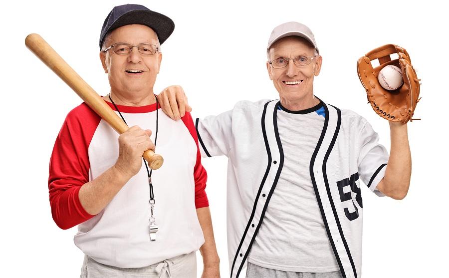 senior activities baseball