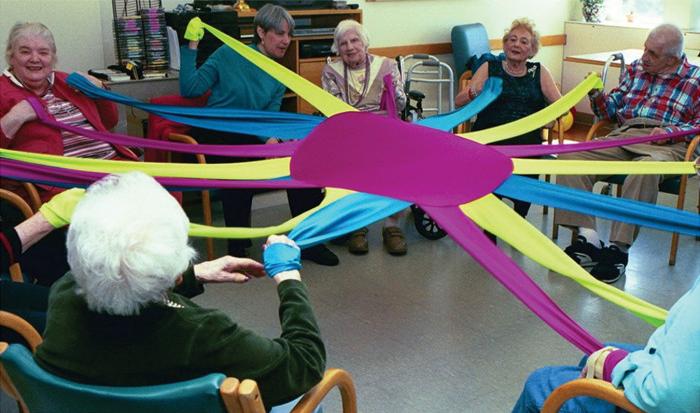 senior residents active