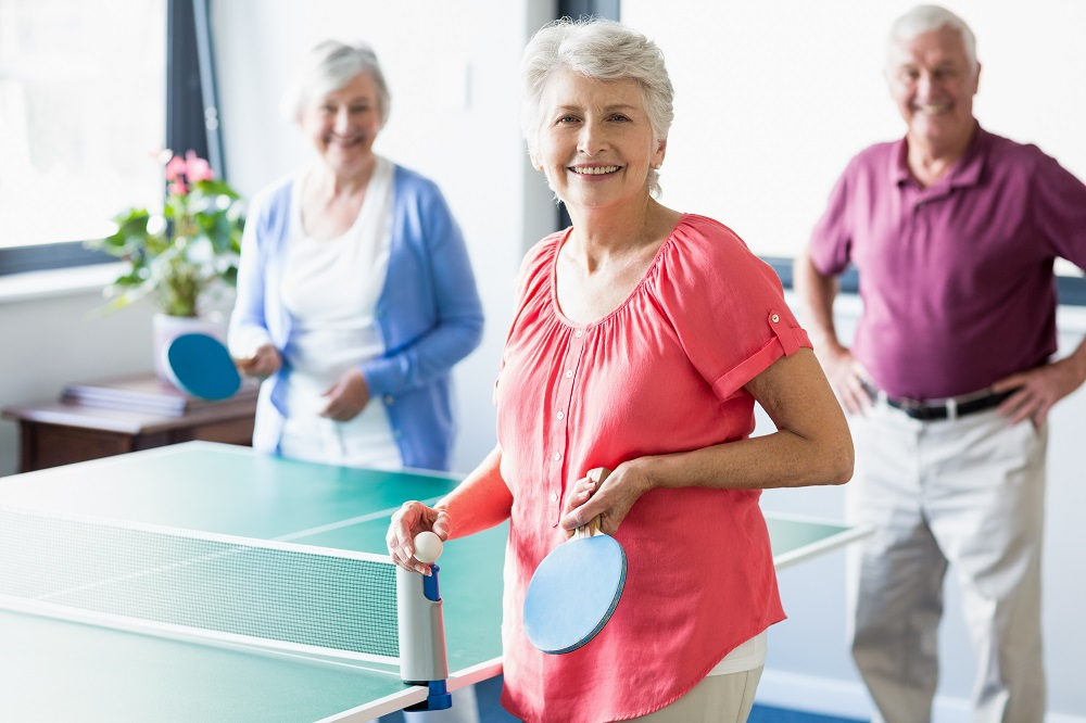 senior residents physical therapy month