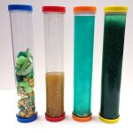 Sensory Tube Activities for St. Patrick's Day
