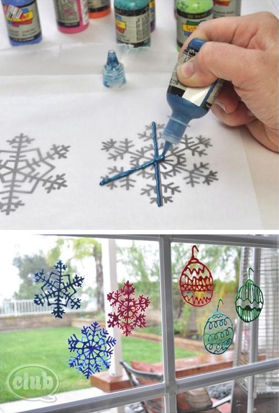 winter crafts seniors