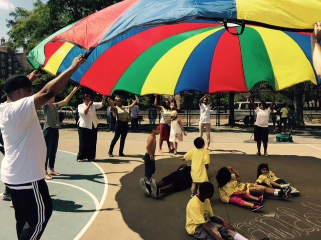 fun parachute games