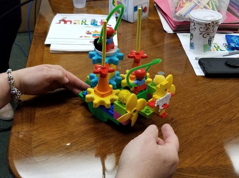 steam park lego activity