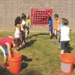 Toss Four Game Variations for PE & Active Play