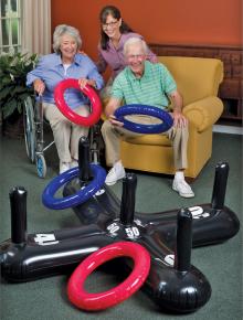 toss games wheelchair residents