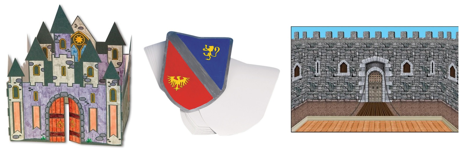 Mighty Fortress Vbs Craft Ideas
