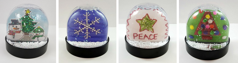 winter snow globe ideas