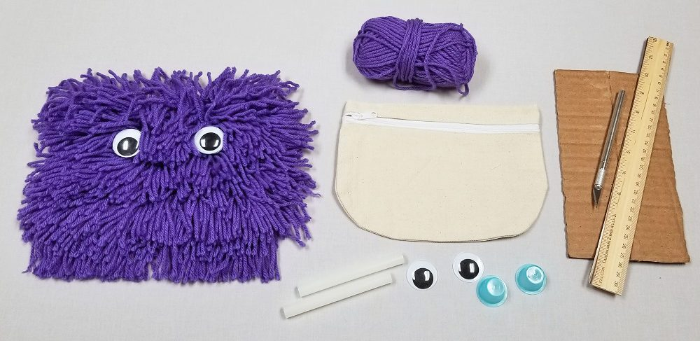 yarn monster materials