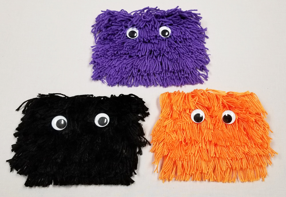 yarn monsters halloween