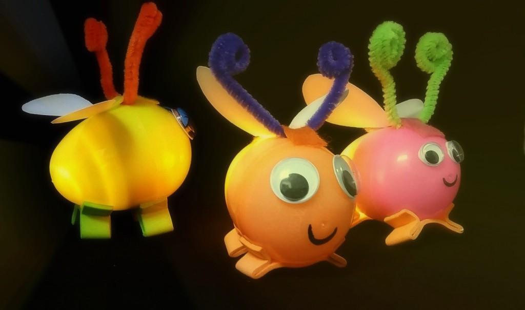 diy glow bugs