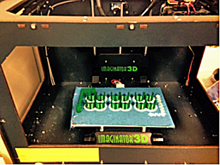 3D printer used in classroom